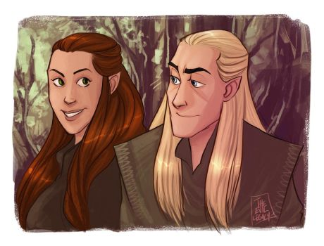 LOTR - Little smile by the-evil-legacy