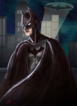 The Batman finished by leo-darkheart