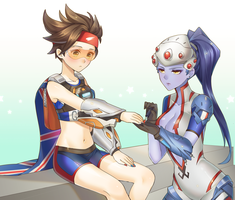 Widowtracer by sakuno291