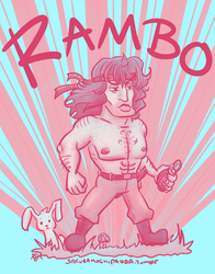 Rambo in Palette 21 by I-heart-Link