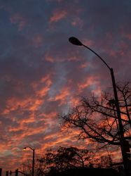 Sunset Over Suburbia by johnmargetis