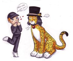 NEKO NEKO - Kaku and Lucci by firnantowen