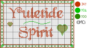 Pattern: Yuletide Spirit by cathartic-dream