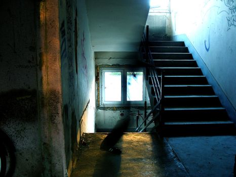 Stairway Phantom by O-nay