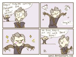 The Witcher 3, doodles 331 by Ayej