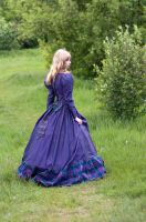 Girl in Fantasy Dress by ann-emerald-stock
