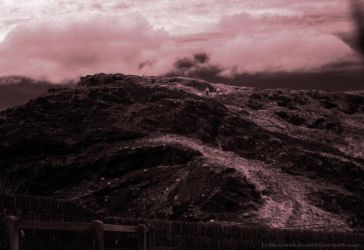 Tintagel Castle in Infrared 2 by Quoth-Raven