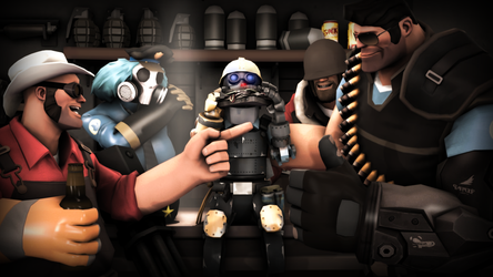 Lil' Engie is credit to team! by ChaoticLord44