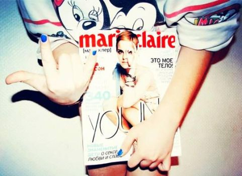 Marieclaire by t35t05tr0n3