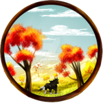 art payment: autumn wanderer by sable-silence