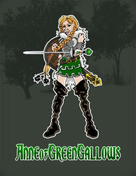 Anne of Green Gallows by Bleezer