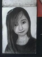 2013 drawing - Ms. Nathalie Faye by nielopena
