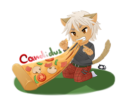 Stray Cats Chibis: Candidus by Cera-Miaw