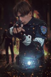 Leon S. Kennedy from Resident Evil: DC # 3 by Akiba91