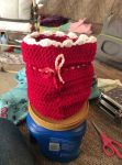 Crocheted Bag by Sassafras1560