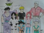 Toonami Characters by JQroxks21