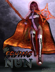 The Frying Nun by Scavgraphics
