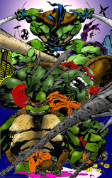 TMNT tribute by Jiinn