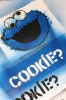 cookie monster by o0IRONMAN0o