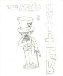 The Mad Mad Hatter by DestineChaos