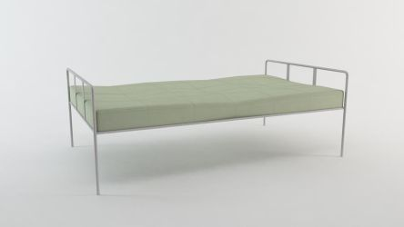 Metal Bed by Akinuri