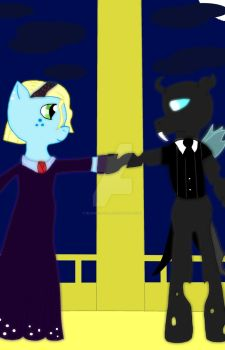 At The Gala - Alone by BlackCatXel