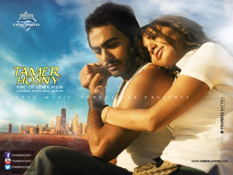 New Artwork For Tamer Hosny And Zena 2013 by younessdesigns
