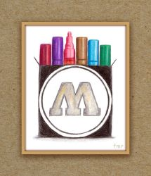 Molotow Markers by fmr0