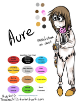 9 oc: Aure by tomahachi12