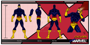 Classic Marvel-Cyclops by skywarp-2