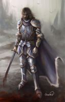 Weary Knight by Sicarius8