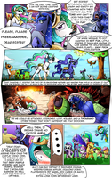 Two Sisters Go Camping Page 1 by Rated-R-PonyStar
