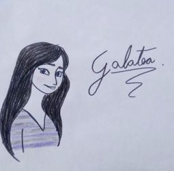 Art Trade: Galatea by Isabelle-llubaly
