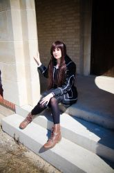 VK: Resting at the School by singingaway
