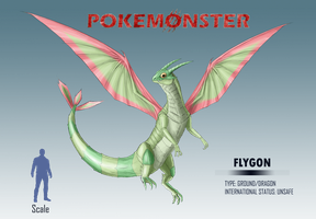 Pokemonster - Flygon by MissMagnificent