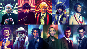 Doctor Who Wallpaper v1 by Elmic-Toboo