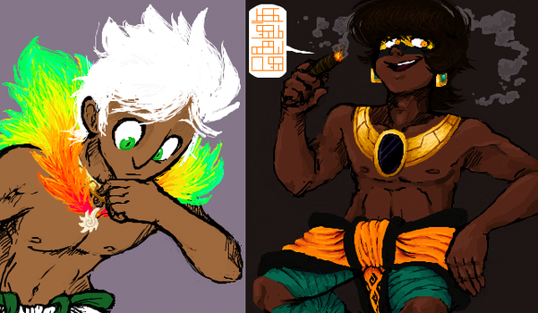 iScribble Gods by LKani