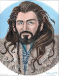 Thorin Acrylic Portrait 1 by cfgriffith
