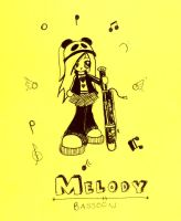 World Class Bassoonist: Melody by xminikui