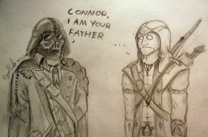Connor, I am your father by Jakiron