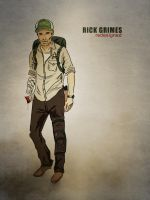 Rick Grimes: Redesign by IronWarrior777