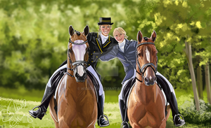 The Illustrious Two by wideturn