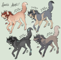 {Adoptables !} {CLOSED} by noiresetoiles