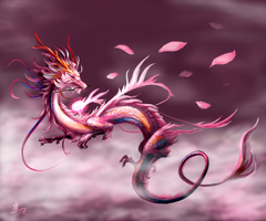 Flower of the wind by Lena-Lucia-dragon
