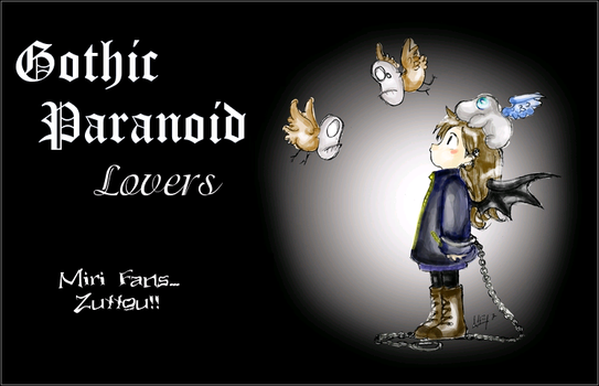GP Lovers by GothicParanoidLovers