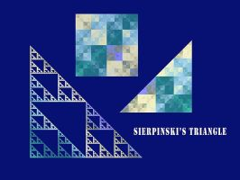 Sierpinski's triangle by duf20