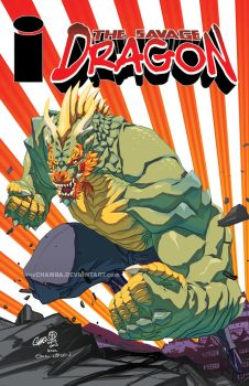 IMAGE re-imagined - Savage Dragon by theCHAMBA