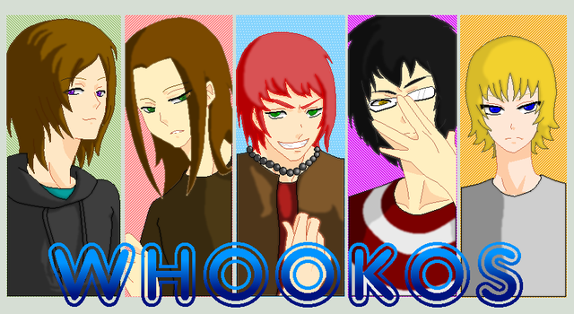 The WHOOKOS Boys by Zel-Holt
