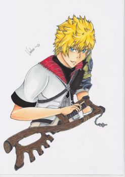 + Tumblr Request + Ventus by HikariNoKusari
