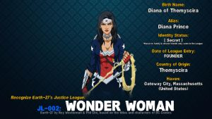 [Earth-27: Recognize] 2- Wonder Woman by Roysovitch